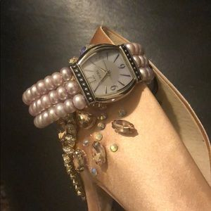 When the clock strikes midnight wear Honora pearls
